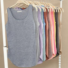 Summer New Tank Tops Women Sleeveless Round Neck Loose T Shirt Ladies Vest Singlets(China)