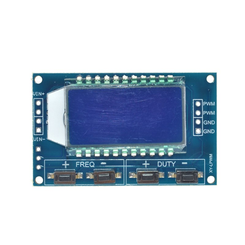Freqüência de Pulso Ajustável Módulo Display LCD