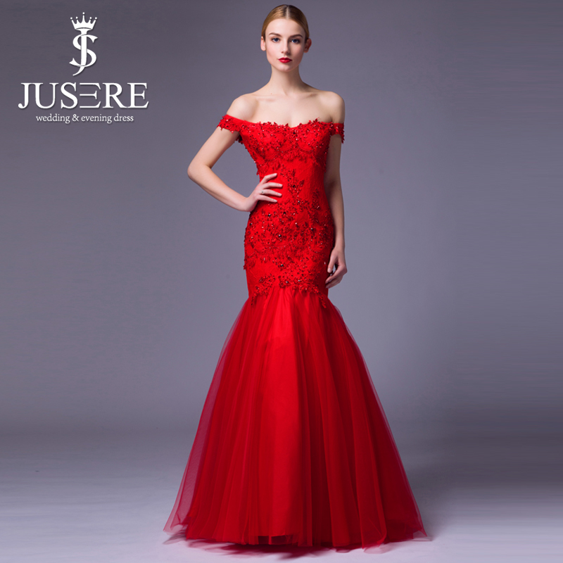Aliexpress.com : Buy JUSERE 600012 2015 Elegant Vintage Red Long ...
