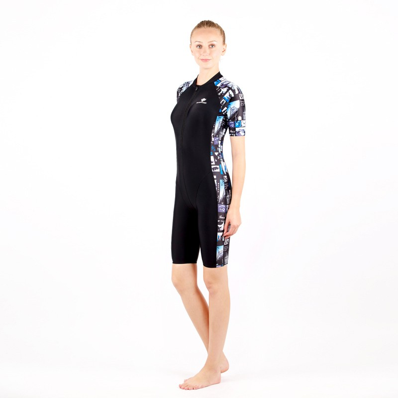 0c9ad2b7408 Dropwow HXBY swimsuit arena swimming women swimwear black printing ...