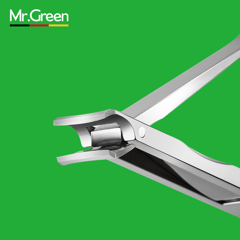 Mr.green Real New Ultra-thin Foldable Hand Toe Nail Clipper Cutter Trimmer Stainless Keychain Wholesale High Quality