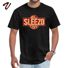Custom El Sleezo Cafe Men T-Shirt Dominant Summer Fall Short SS Round Collar The Last Of Us Tees Casual Tops
