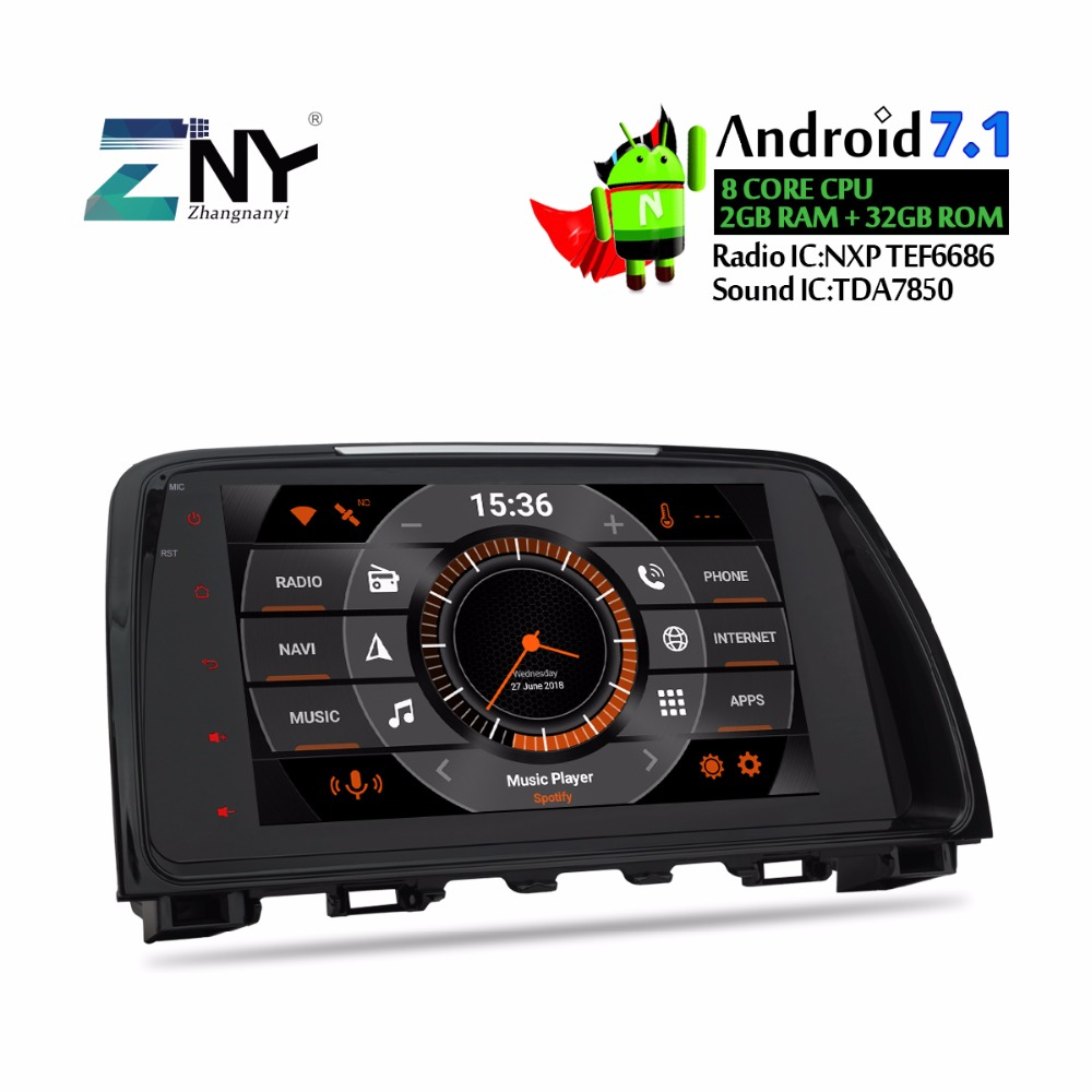 9 U0026quot  Ips Android Car Radio For Mazda 6 Atenza 2013 2014 2015