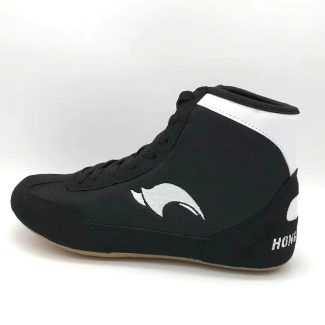 Professional Men Boxing boots Wrestling Shoes gear Combat Sneakers gym equipment training fighting boots Plus Size 36-46