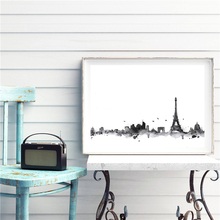 The Abstract New York City Minimalist Canvas Painting Oil Print Poster Wall Art HD Picture For Living Home Bedroom Decor