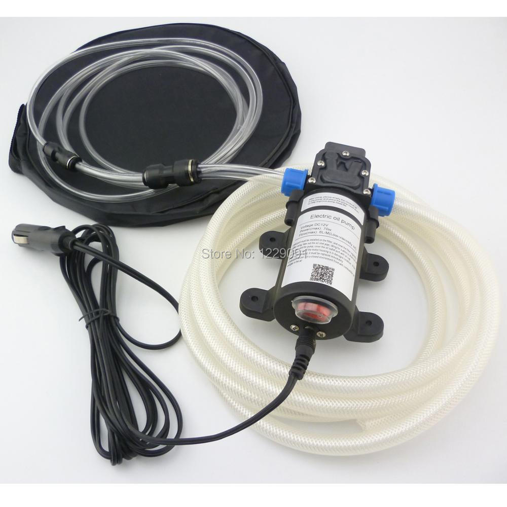 Heavy Duty Oil and Fuel Transfer Extractor Pump 12 Volt DC Motor Self Priming