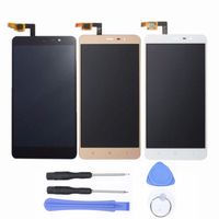 New LCD Display Touch Screen Digitizer Replacement For Xiaomi Redmi Note 3 With Tools Accessories Gold