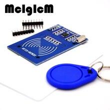 MCIGICM MFRC 522 RC522 Mfrc 522 RFID RF IC Thẻ Cảm Ứng Mô Đun S50 Phục Đán Thẻ Móc Khóa Viết Robot