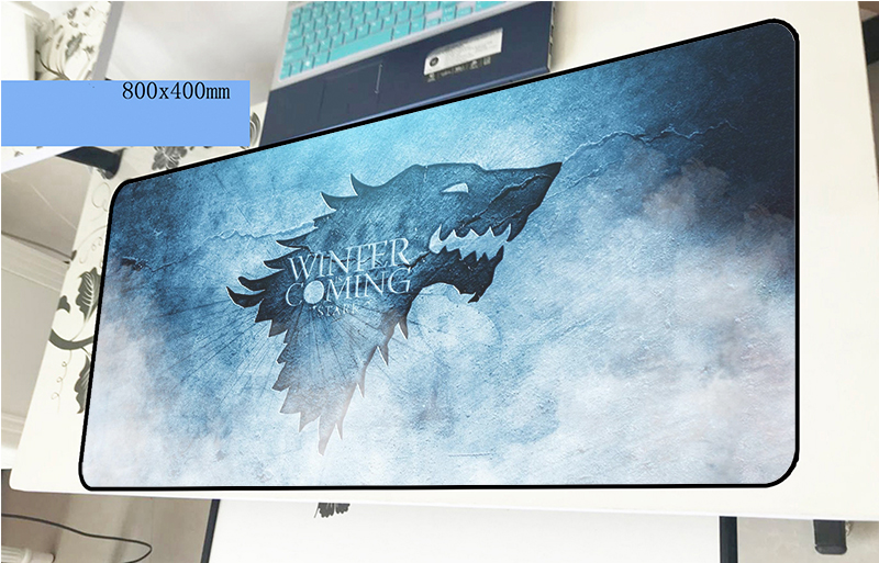 Game of Thrones mouse pad 80x40cm Birthday mousepads best gaming mousepad gamer gel personalized mouse pads