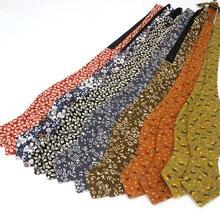 Fashion Cotton Bowtie for Men Plain Self Bow Tie