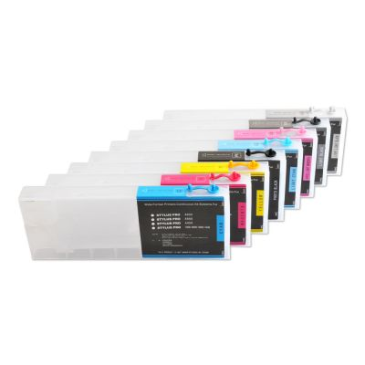 Epson Stylus Pro 4000 doldurma kartuşu 8pcs / set - Ofis elektronikası - Fotoqrafiya 1