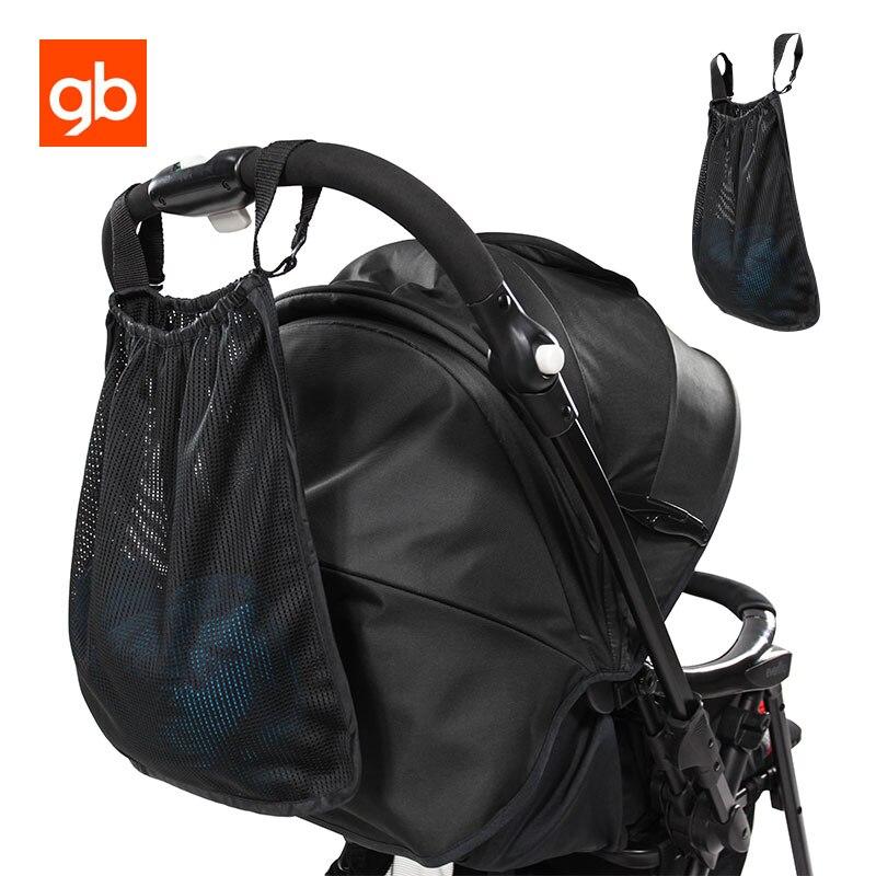 Gb коляска Организатор сумка Аксессуары для колясок сетки Сумки для хранения подходит для большинства Коляски Универсальный Размеры ...