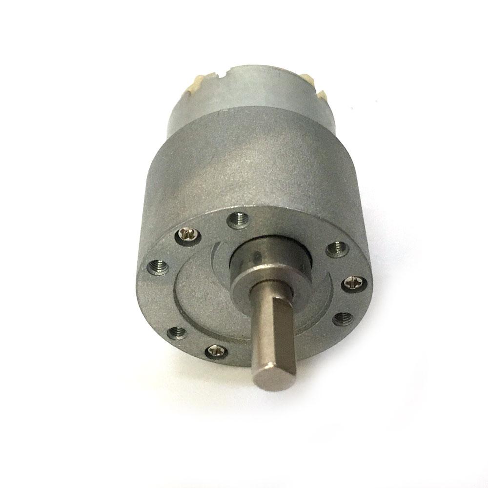 Mini electric motor 12v 10rpm 37mm powerful high torque dc for Hi torque electric motor