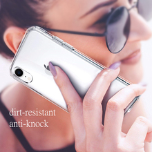 Clear Silicone Soft TPU Case Phone For iPhone XR XS MAX X 8 Plus 7 6 6S Slim Cover Wireless Charging Cell