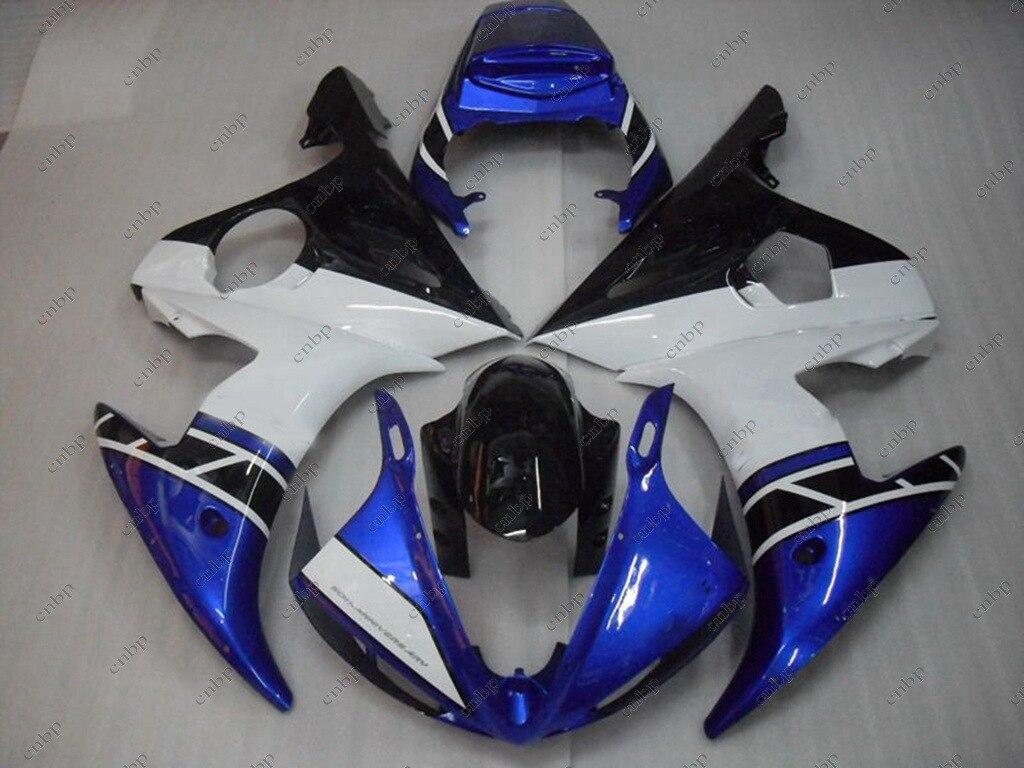 04 05 YZF R6 Fairing Kits Blue  for YAMAHA YZFR6 2003 Body Kits YZF R6 03 04 Plastic Fairings 2003 - 2005