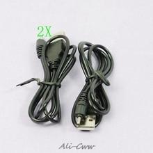 2 X USB מטען כבל עבור Nokia N73 N95 E65 6300 70cm