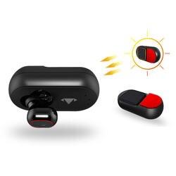Солнечные Bluetooth наушники с Панель Магнитная Зарядка для автомобиля гарнитура дома на открытом воздухе с мягче Rliable для All Ears
