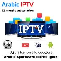 1 Year Iptv Code 4K Arabic Iptv Subscription Africa Code