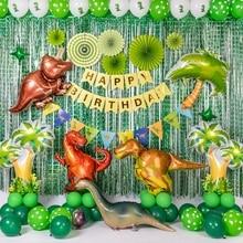 Big dinosaur Foil Balloons Birthday party decoration Inflata
