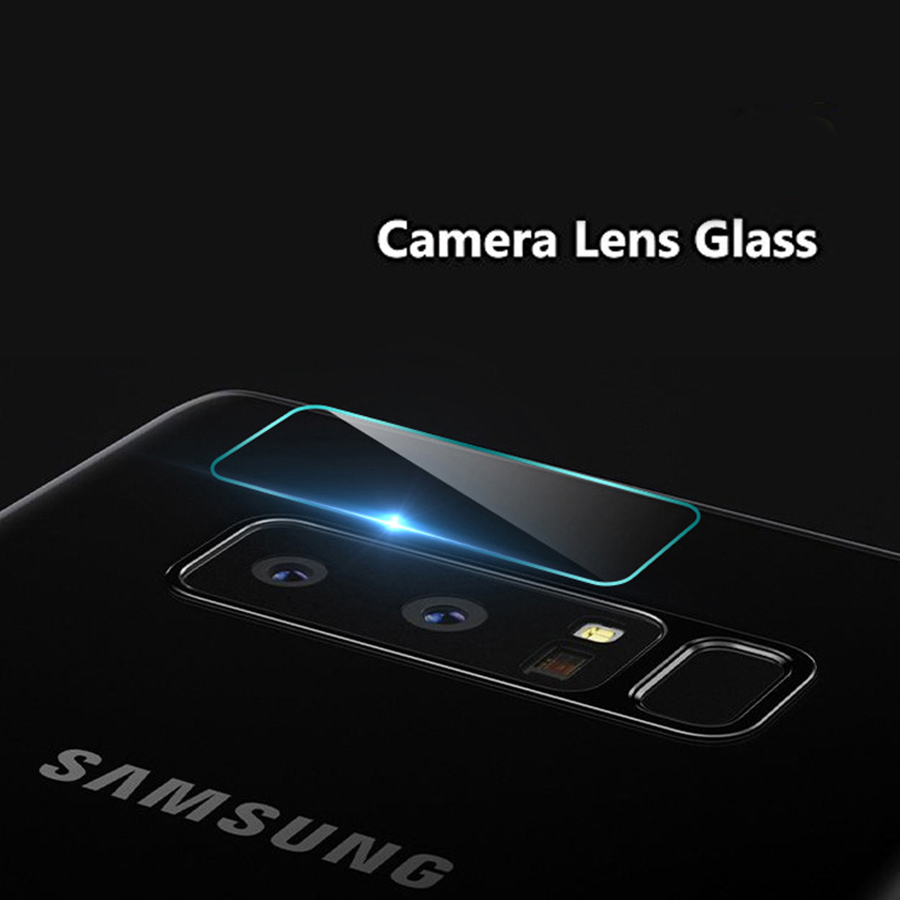 For Samsung Galaxy S6 S7 Edge S8 S9 Plus Note 8 Camera Len Protector Tempered Glass Film Protection Cover Back Lens Film