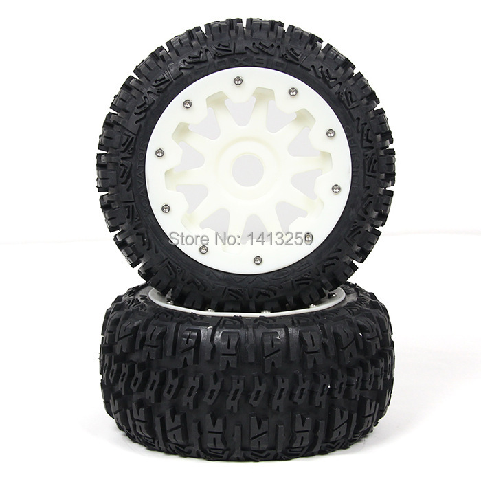 5B Rear knobby wheel set with nylon super star wheel for baja parts,free shipping 5b front knobby wheel set with nylon super star wheel ts h85073 x 2pcs for 1 5 baja 5b wholesale and retail