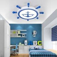 YooE стильная потолочная лампа для детей украшение комнаты поверхностного монтажа скрытая панель удаленного Управление светодиодные светил
