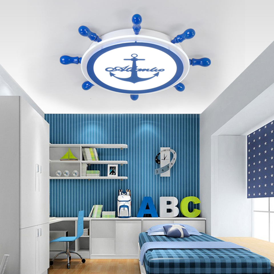 Ceiling Lights & Fans Genteel Yooe Modern Ceiling Lamps For Children Room Deco Surface Mount Flush Panel Remote Control Led Ceiling Lights Ceiling Lights