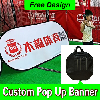 Free Design Free Shipping Horizontal A Frame Banner Outdoor Pop Up Banners Outdoor Pop Up Banner
