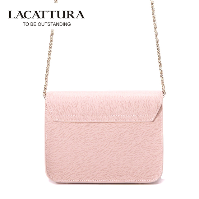 A1312 LACATTURA Brands Mini Flap bags crossbody Bags cow leather clutches bag bolsos women bolsa feminina shoulder messenger bag