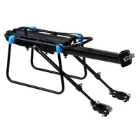 New Bike Luggage Carrier Aluminum Bicycle Cargo Racks Shelf Cycling Seatpost Bag Holder Stand Rack