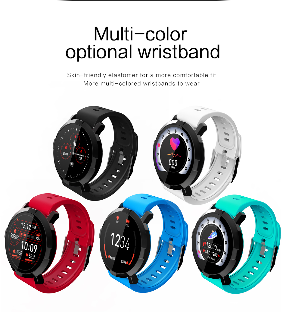 M29 Smartwatch IP67 Waterproof Wearable Device Bluetooth Pedometer Heart Rate Monitor Color Display Smart Watch For AndroidIOS (12)