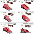 1set Skate Park Ramp Parts A/B/C/D/E/F for Tech Deck Fingerboard Finger Board Ultimate Parks