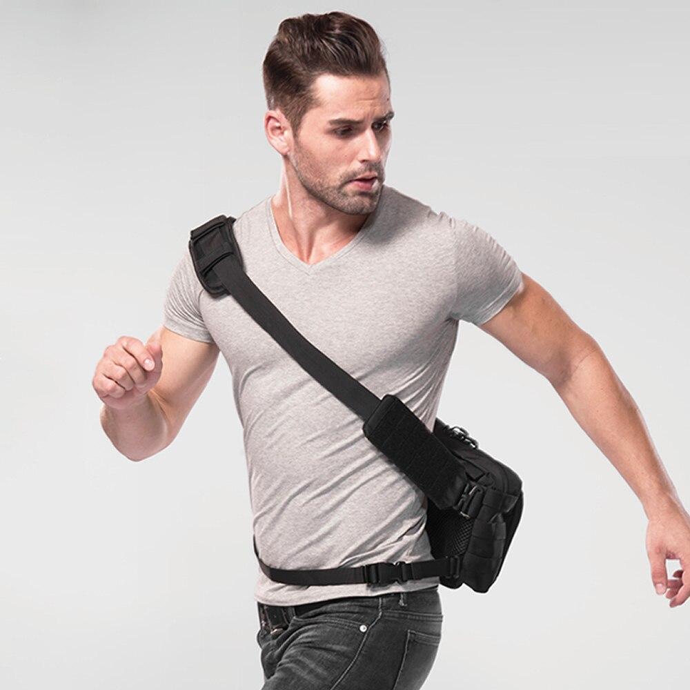 1 PC NITECORE NEB10 NEB20 multifunctional daily bag 1050D NYLON fabric hiking outdoor travel packaging fashion gray and blac