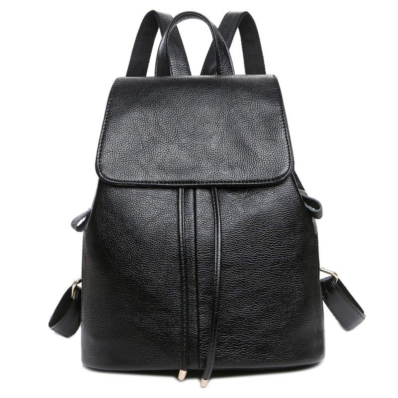 2017 New Fashion Women Backpacks Women Genuine Leather Backpacks Girl School Bag High Quality Ladies Bags