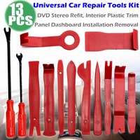 Car Repair Tools Stereo Refit Kits Interior Panel Dashboard Installation Disassembly Removal 14/13/12/11/8/7/6/5/4pcs