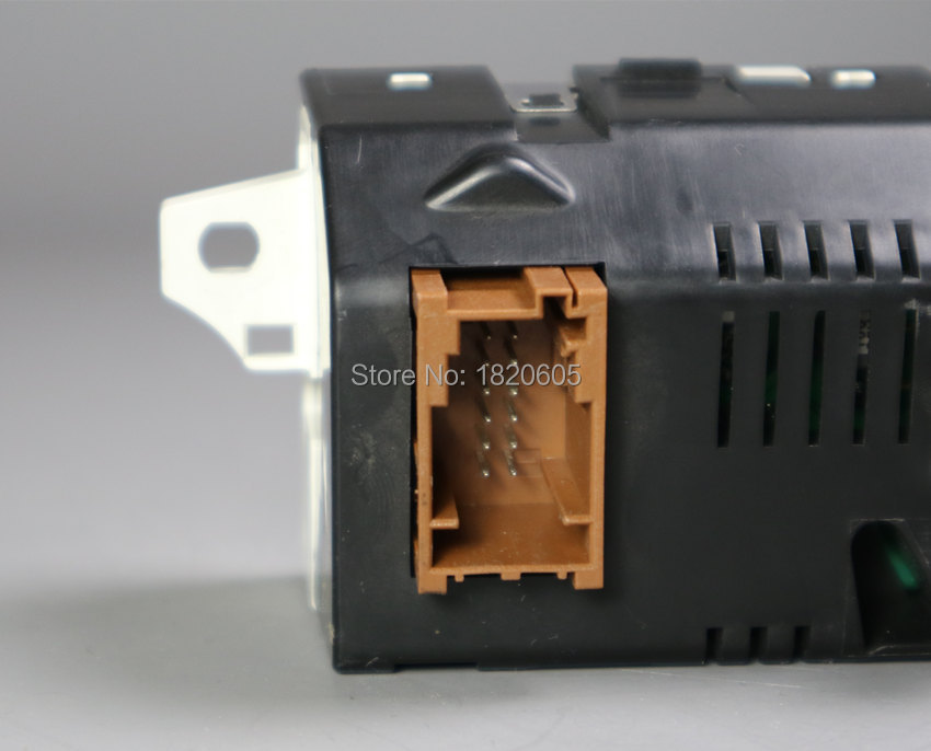 Support d'écran USB double-zone Air Bluetooth affichage jaune moniteur 12 broches pour Peugeot 307 407 408 pour citroën C4 C5 écran - 4