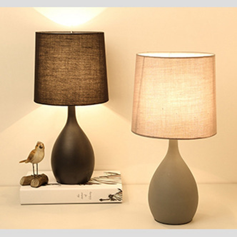LukLoy LED Table Light Nordic Simple LED Desk Lamps Hotel Table Lamp Creative Bedroom Lighting Study Living Room Office Home nordic desk lamp bedroom bedside lights modern simple study lamps creative home lighting led fixtures living room table lamps