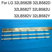 Brand New LED Backlight Strip For LG 32LB582V 32LB582B 32LB582D 32LB582T 32LB582U 32LB582Y TV Repair Strips Bars