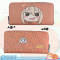 New product anime style himouto!umaruchan peripheral Creative and leisure long zip wallet