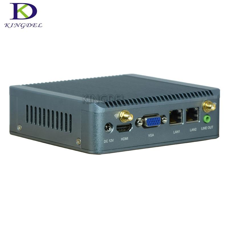 Fanless Mini Pc Celeron J1800 Dual Core Small Computer With HDMI,VGA,COM Port Nettop HTPC TV BOX Wifi Desktop N90