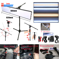 Paintless Dent Repair Tool Kit Lamp Reflective Borde 12v PDR KING lamp Board with adjustable bracket