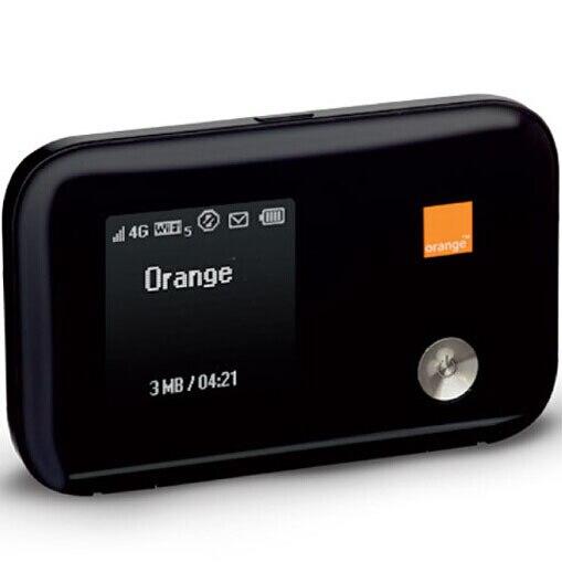 Débloqué 4G LTE poche routeur Wi-Fi Huawei E5372 3G 2G batterie intégrée