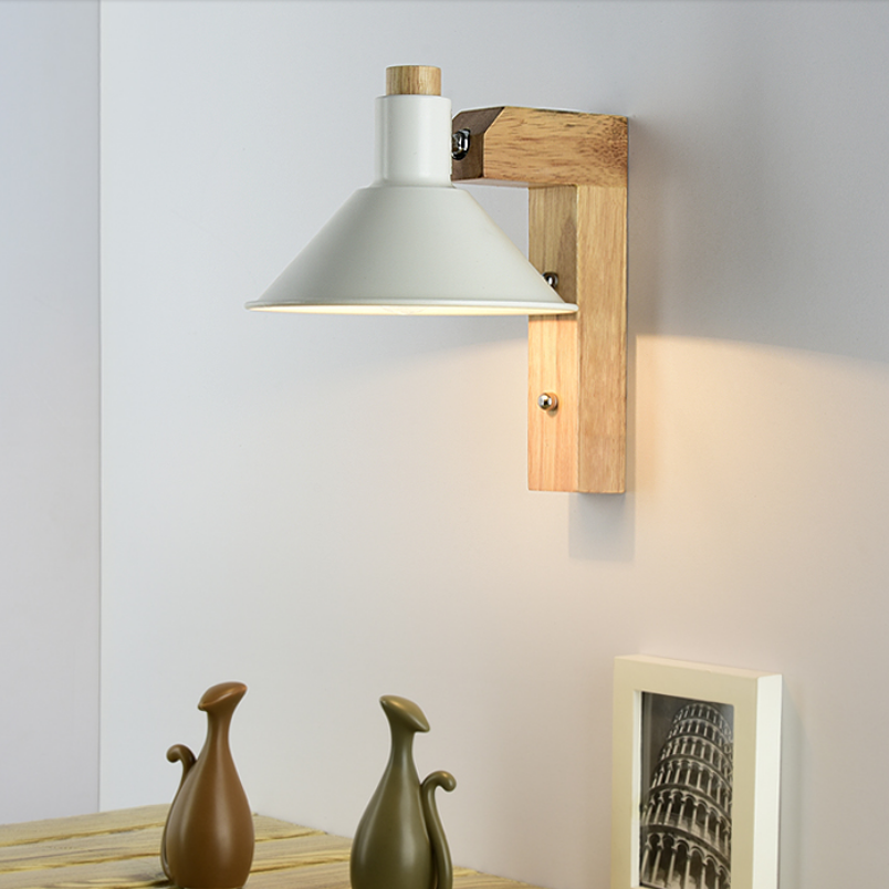 Modern Wooden Led Indoor Wall Lamp Bedside Aisel Stair Iron Nordic Wall Sconce Lighting Fixture Luminaire Lampra Pare Home DecoModern Wooden Led Indoor Wall Lamp Bedside Aisel Stair Iron Nordic Wall Sconce Lighting Fixture Luminaire Lampra Pare Home Deco