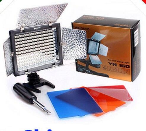 все цены на  Photographic Lighting YONGNUO YN-160 160 LED Video Light with Filters for Camera/Camcorder,Camera Light  онлайн
