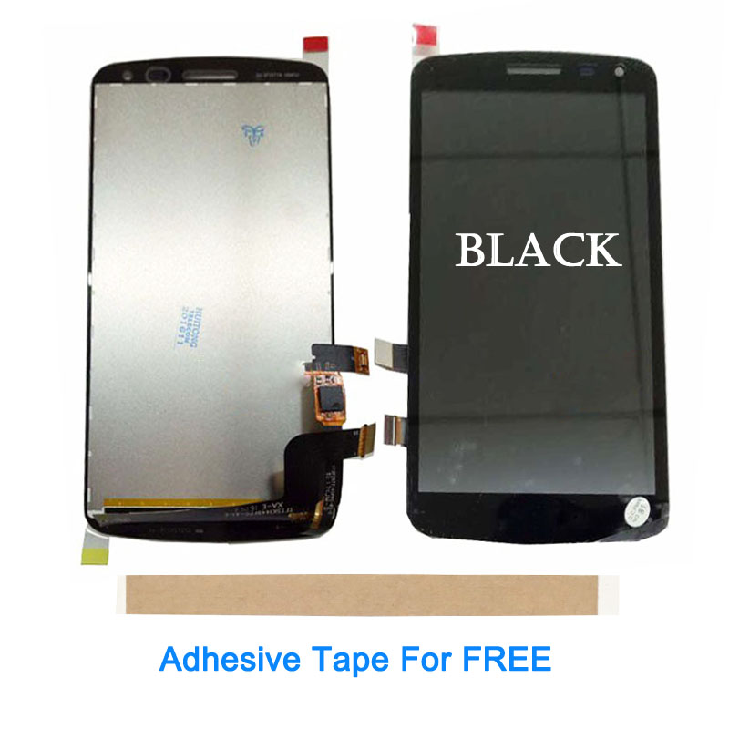 For LG K Series K5 Q6 X220 X220MB <font><b>X220DS</b></font> LCD Display With Touch Screen Sensor Glass Digitizer Assembly Black Color With Tape image