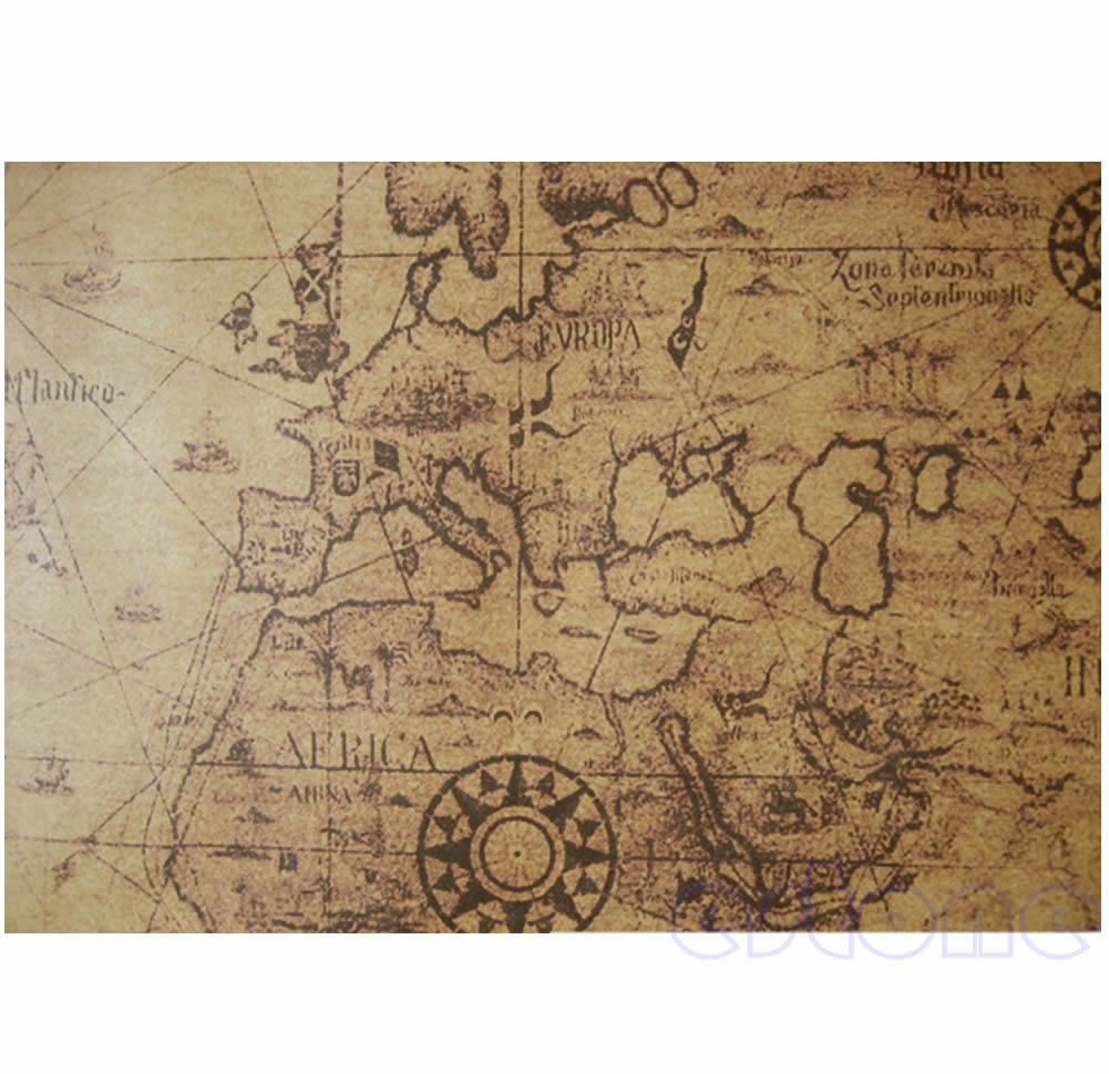 Large Vintage Map Of The World.Detail Feedback Questions About 71x51cm Large Vintage Style Retro