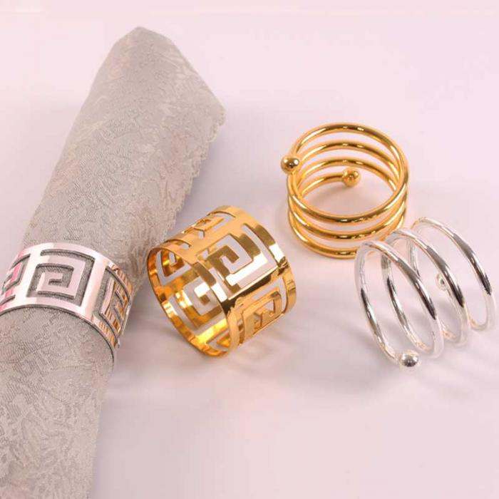 6pcs Serviette Rings - Napkin Holders For Table Decoration Best Children's Lighting & Home Decor Online Store
