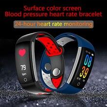 Q6 inteligente pulseira coração taxa de pulso de oxigênio no sangue pressão arterial respiratórios do sono informações de monitoramento de freqüência para lembrar Android IOS