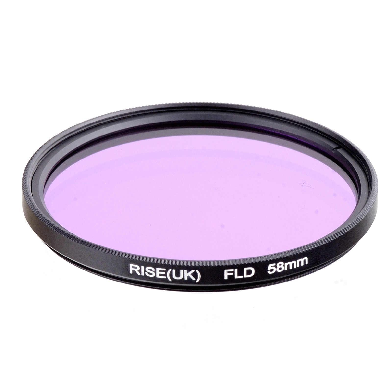 Naik (Inggris) Baru 58 Mm FLD Filter Lensa untuk Nikon Canon Sony Kamera Dlsr Filter