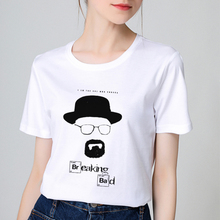 BTFCL 2019 Summer T shirt Women Cotton Breaking Bad print Harajuku Tees Short Sleeve Plus Size Tshirt Gothic gilrs 90s T-shirt